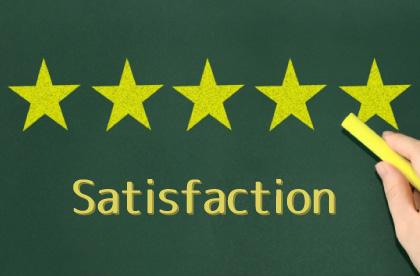 顧客満足度アップ